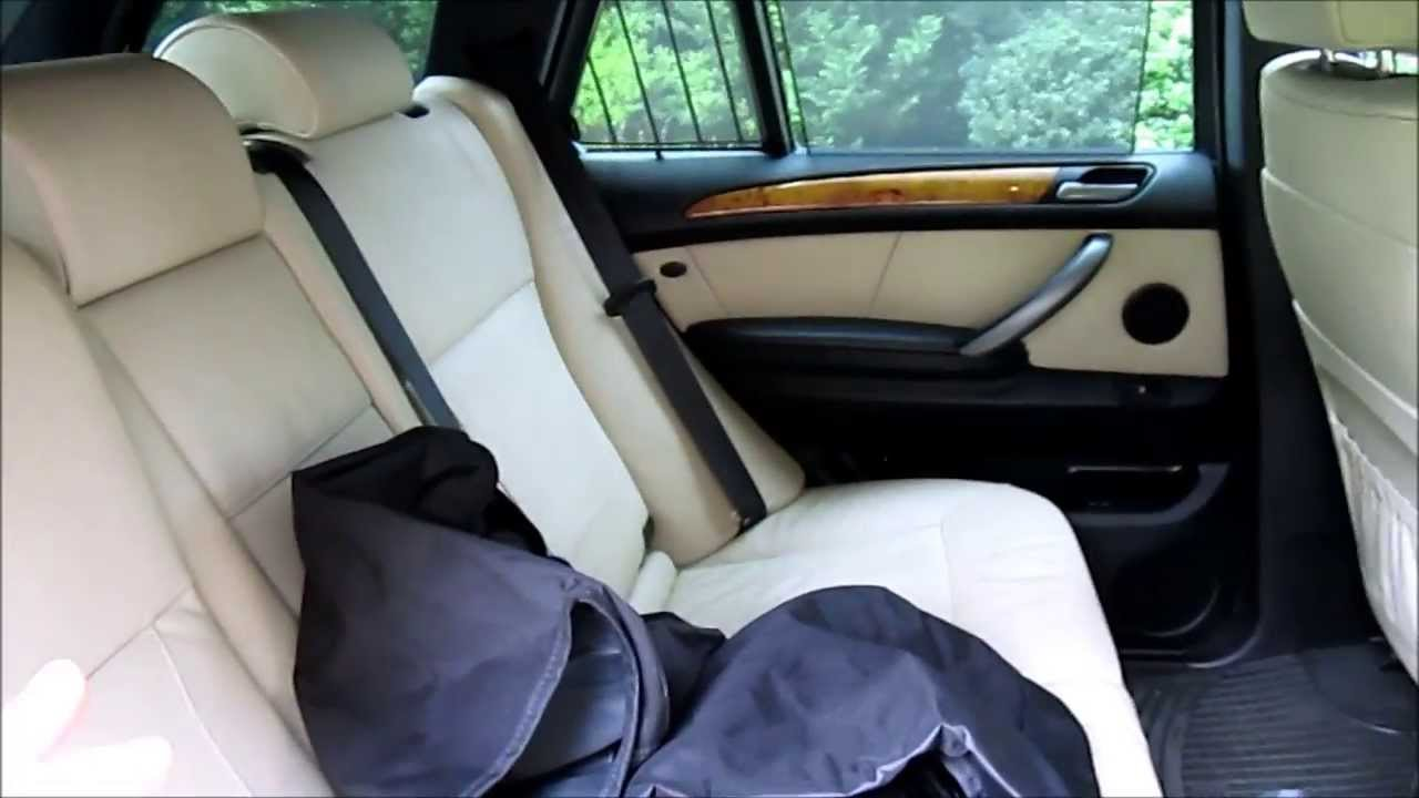 Bmw E53 X5 Rear Seat Protector Install Guide Youtube