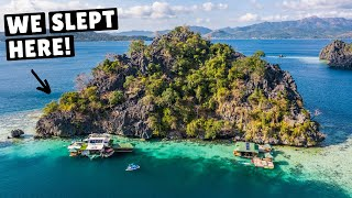 INCREDIBLE OFF-THE-GRID HOUSEBOAT (Coron, Philippines)