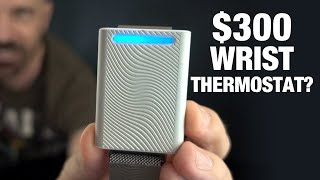 Personal Thermostats? $300 Embr Wave vs $15 Wrist Wrap