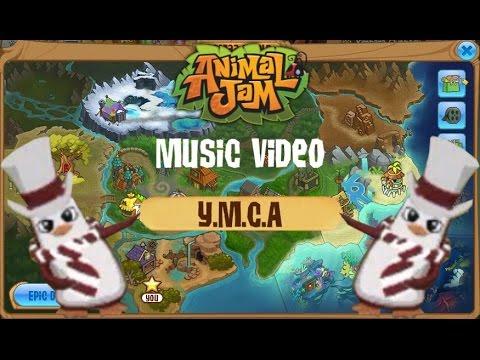 Animal Jam Music Video - Y.M.C.A ( Village People )