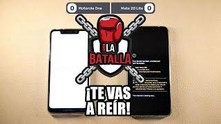 Motorola One vs Huawei Mate 20 Lite | La batalla