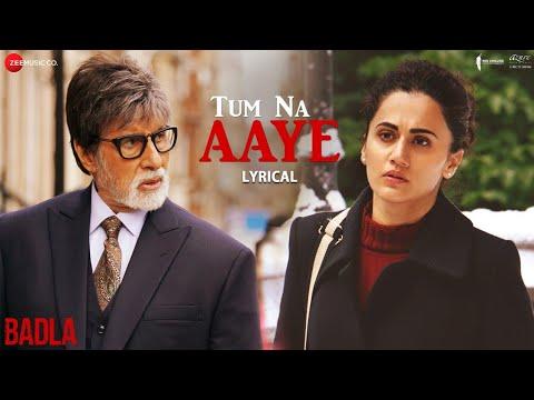 Tum Na Aaye - Lyrical   Badla   Amitabh Bachchan & Taapsee Pannu   KK   Amaal Mallik