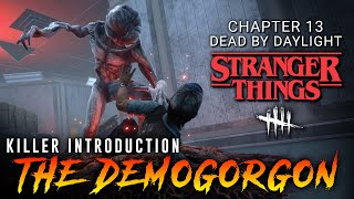 Demogorgon is Strong! Mori is Brutal! - PTB Gameplay - Dead by Daylight Stranger Things