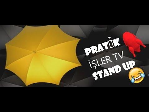 PRATİK İŞLER TV STAND UP 2019 TAM KOPMALIK SARI SARI İYİ EĞLENCELER