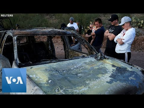 Relatives Arrive At Crime Scene Of Mormon Family Ambush Near US-Mexico Border