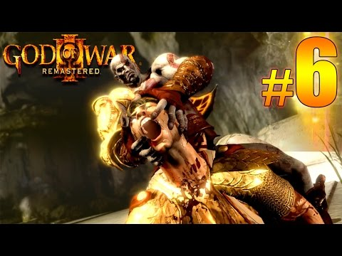 God Of War III Remastered Part 6 - Ripping OFF The Head of Helios Walkthrough Gameplay