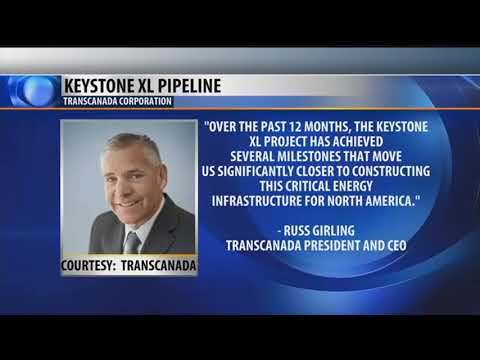 Transcanada moving ahead on Keystone pipeline