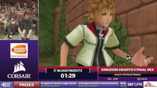 Kingdom Hearts Ii Final Mix By Bl00dybizkitz In 3:02:00   Sgdq2017   Part 120