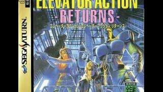 ELEVATOR ACTION RETURNS COMENTADO CON PEK, SATURN RGB