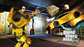 GTA 5 Mods - GRAVITY GUN MOD! Space Ranger's Gravity Gun Adventures in GTA 5! (GTA 5 Mods Gameplay)
