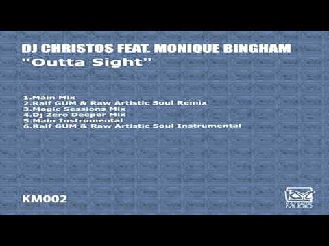 "Dj Christos Feat Monique Bingham  - ""Outta Sight""   (Main Mix)"