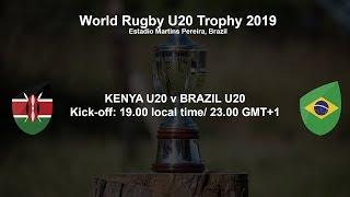 world rugby u20 trophy 2019 kenya u20 v brazil u20