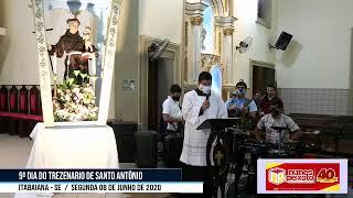 9º DIA DO TREZENARIO DE SANTO ANTÔNIO
