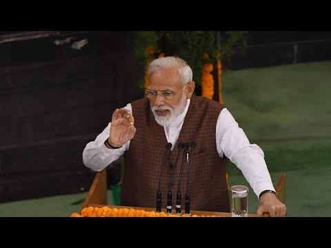 Narendra Modi's speech at Central Hall of Parliament: Key highlights