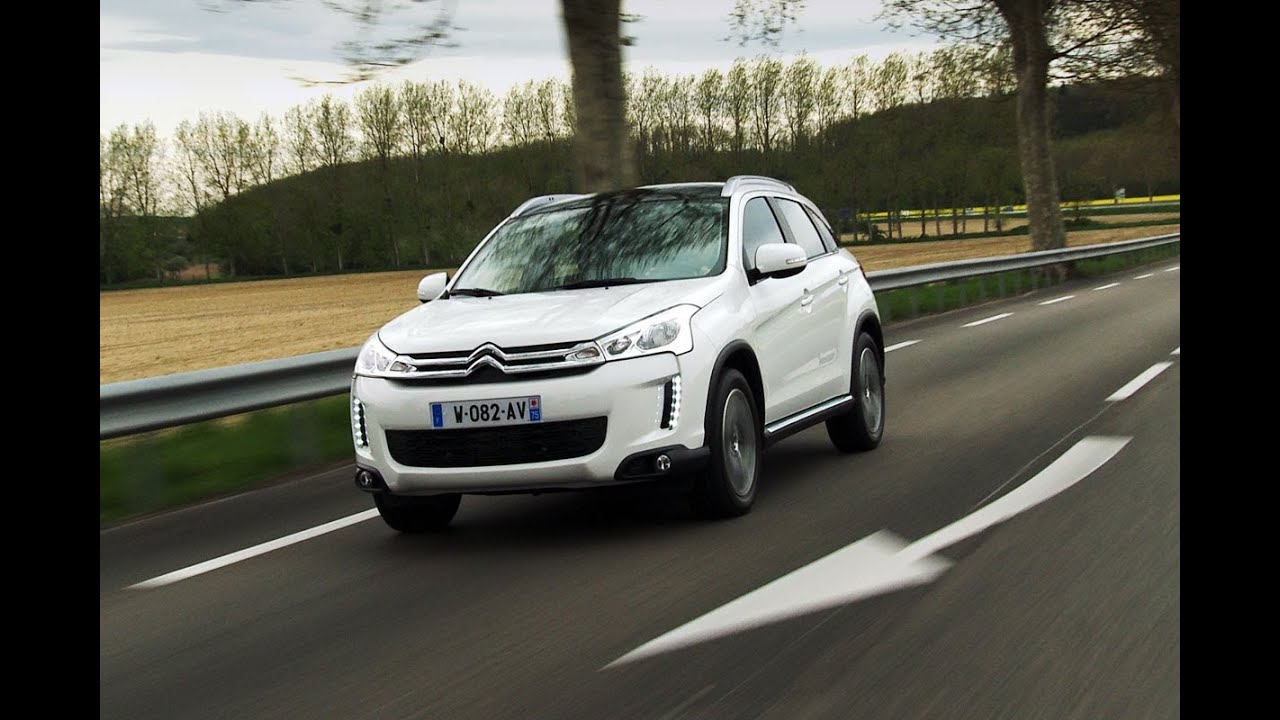 citroen c4 aircross roadtest viyoutube. Black Bedroom Furniture Sets. Home Design Ideas