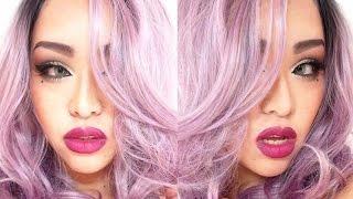 紫メイク・メイベリンアイシャドウパレット/purple makeup