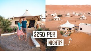 We Stayed in a $250/Night LUXURY Desert Camp Hotel! - Is It Worth It?? (Oman)