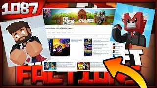 Minecraft FACTIONS Server Let's Play - MY CHANNEL IS HACKED!! - Ep. 1087
