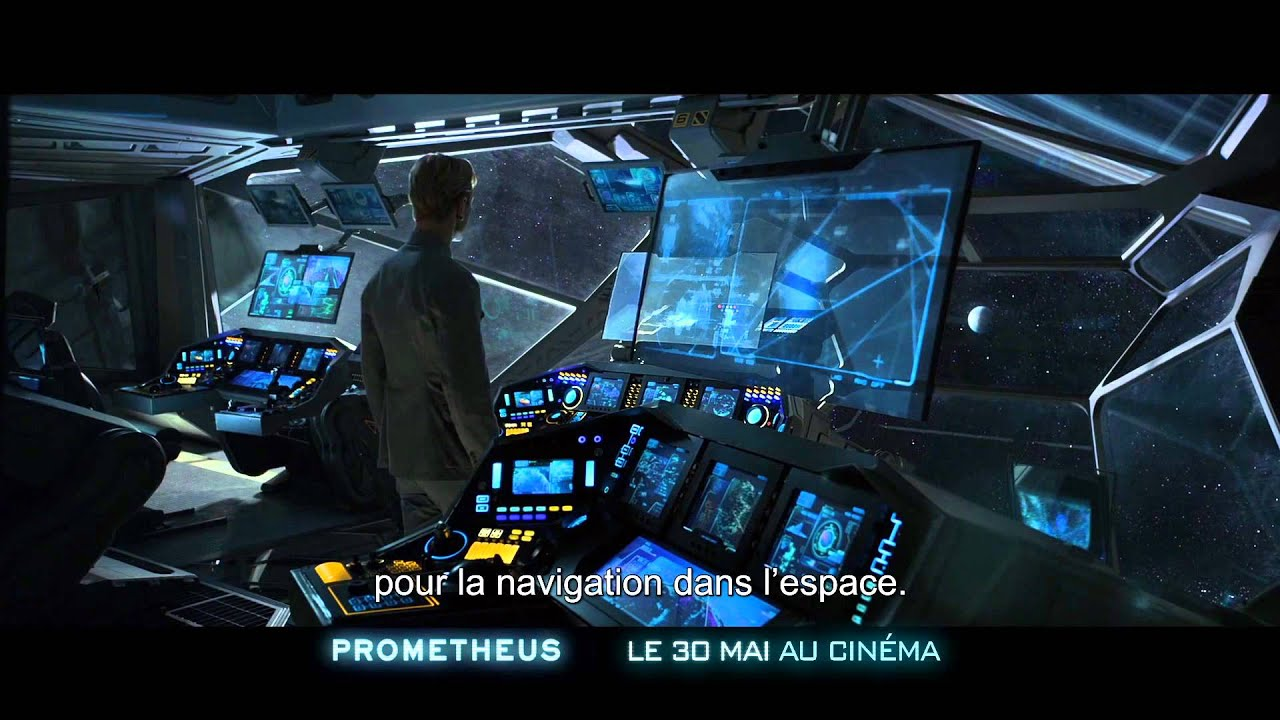 Prometheus - Featurette Voyage dans l'Espace VOST HD