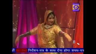 V. Anuradha Singh performing for doordarshan