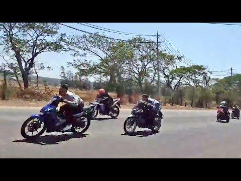 Drag Bike 135 LC Jupiter MX 180cc (Crankshaft Standard) - YouTube