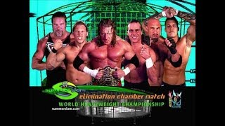 WWE Elimination Chamber 2003 | Goldberg vs Triple H vs Kevin Nash vs Shawn Michaels vs  Jericho