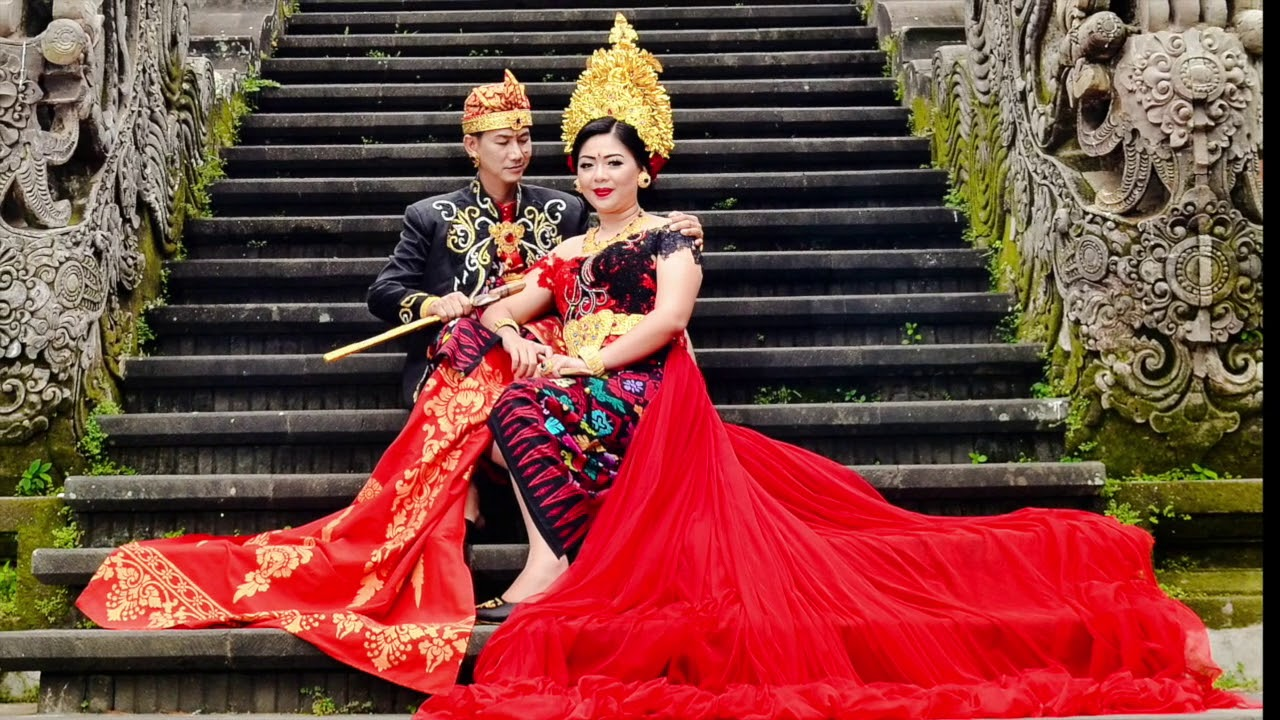 Prewedding Adat Bali Payas Agung Modifikasi Di Art Center Bali