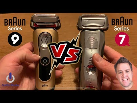 Braun Series 9   V's   Braun Series 7   - Worth The Upgrade? (9299s Gold Edition)
