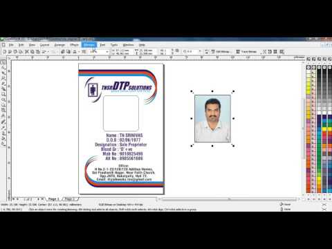 Repeat How to insert photo in ID card with use of power clip