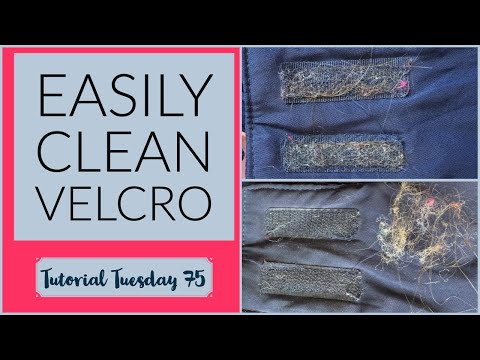 How to Clean Fuzz Off Velcro | TuTu 75