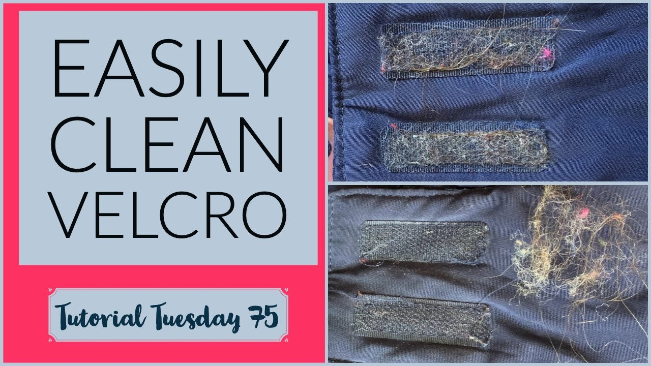 How to Clean Fuzz Off Velcro  TuTu 9