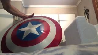 Marvel Legends 75th Anniversary Captain America Shield Unboxing