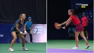 Дарья Касаткина - Леся Цуренко. Кубок Кремля-2018 WTA