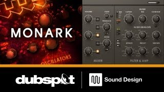 MONARK: New Virtual Analog Synth from Native Instruments - Dubspot Video Preview
