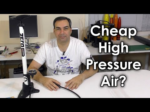 PCP Pumps - Higher Pressures Than Bicycle Pumps
