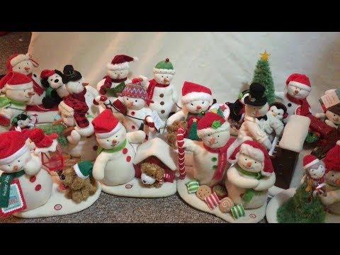 Hallmark Singing Snowmen Collection