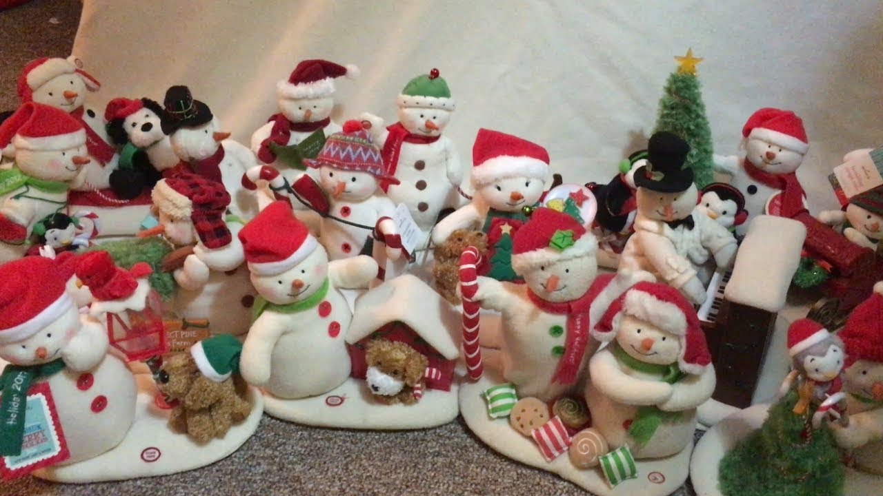Hallmark Singing Snowmen Collection Youtube