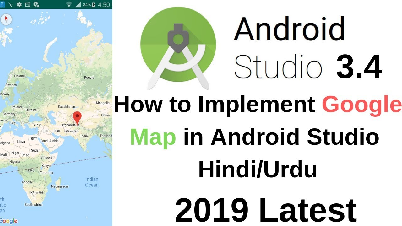 How To Implement Google Map In Android Studio Youtube