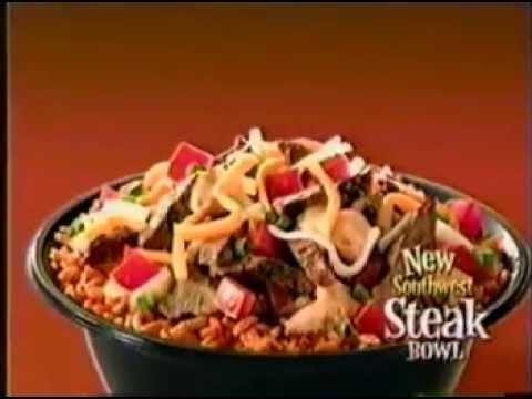 2002 Taco Bell Southwest Steak Bowl Commercial Youtube