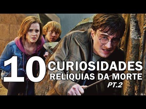 10 CURIOSIDADES do filme Harry Potter e as Relíquias da Morte -  2