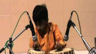 Hemant Joshi Tabla solo part 2 - Indian academy of Music program