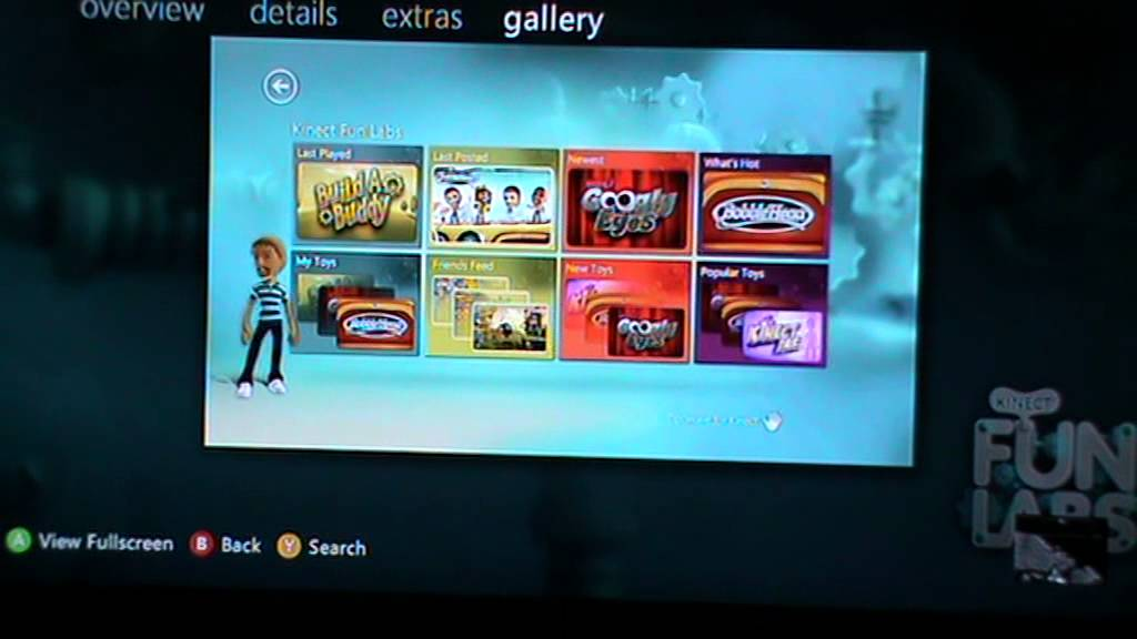 Free Xbox 360 Kinect game downloads