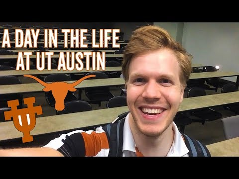 A Day In The Life At The University Of Texas At Austin