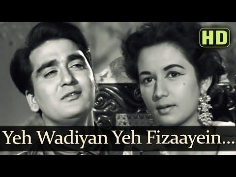 Yeh Wadiyan Yeh Fizaayein | Sunil Dutt | Nanda | Aaj Aur Kal | Bollywood Evergreen Songs | Ravi