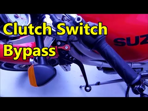 2005 suzuki gsxr 600 wiring diagram v8043e1012 the sv lives bypassing a bad clutch switch youtube