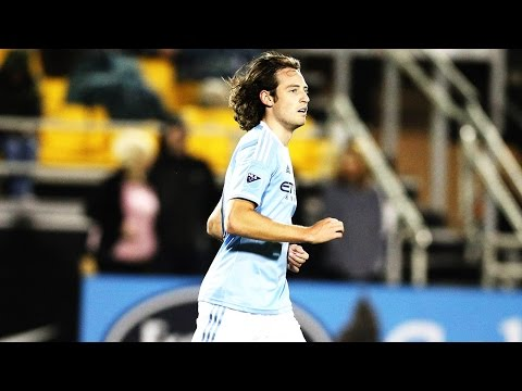 GOAL: Mix Diskerud scores first goal in NYCFC history   Orlando City SC vs. New York City FC