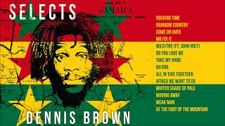 Dennis Brown Mix - Best Of Dennis Brown - Classic Reggae and Lovers Rock Hits Mix | Jet Star Music