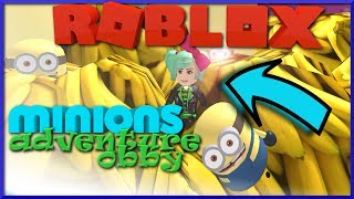 MINIONS! Roblox Despicable Me 3 Movie Adventure Escape Minions Obby SallyGreenGamer Geegee92