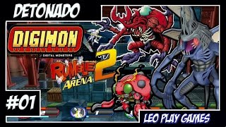 "Digimon Rumble Arena 2 Detonado/walkthrough #1 ""Bora dar choques nos digimons"" [PS2]【Full HD 60 FPS】"