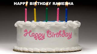 Ramesha - Cakes Pasteles_762 - Happy Birthday